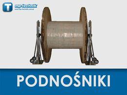 Podnośniki hydrauliczne do bębnów kablowych 5 ton - stojaki