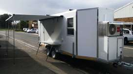 Duet Clinic/Medical Trailer for Sale - brand NEW !!!