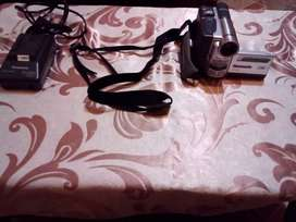 Im selling a camera with batteries, bag and charger
