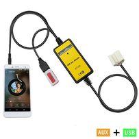 USB AUX MP3 адаптер Honda Acura эмулятор CD чейнджера Accord Civic Jaz
