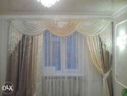 Пошив постельного белья, штор и прочего домашнего текстиля.