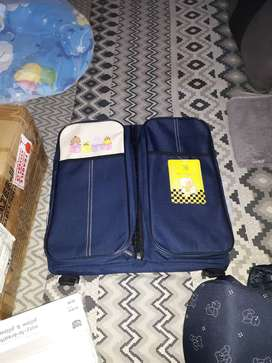 Baby nappie bag wich is also a sleeping bag,baby mosquito net.