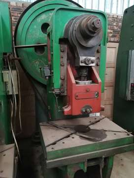 Dirinler 80 ton eccentric press for sale
