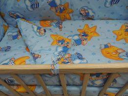Новый постельный комплект в кроватку 3 в1(бязь),постель в кроватку