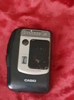 плеер CASIO, компактный магнитофон + радио