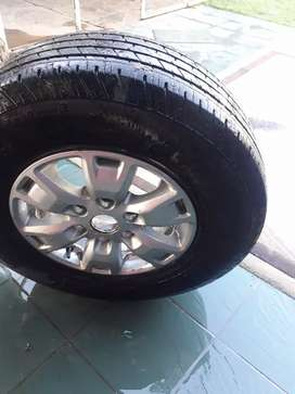 Rims and tyres ford ranger etc