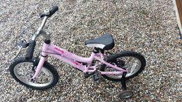 Rower dziecięcy dziecinny rowerek dla dziewczynki dziewczęcy