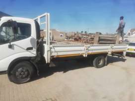 4 ton truck for hire with driver in all areas