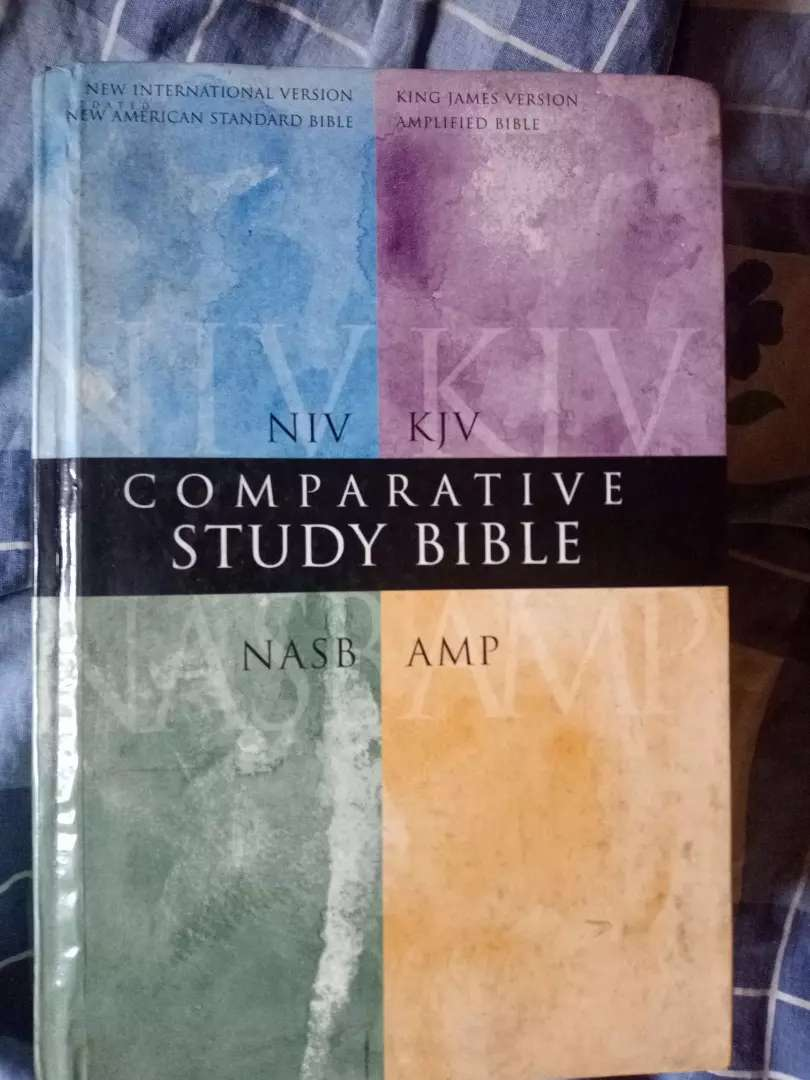4 in 1 big bible for sale 0