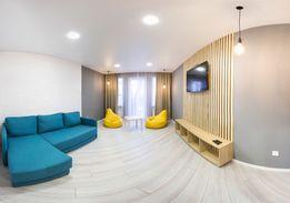 Посуточно своя 3-к кв-ра с дизайнерским евроремонтом! 6 спальных мест
