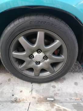 Opel GSI wheels for sale with tyres