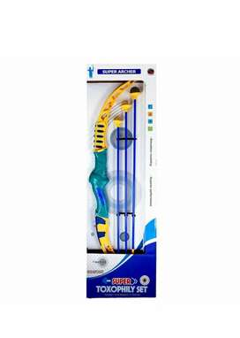 Super Bow and Arrow Toy Set with Suction Darts