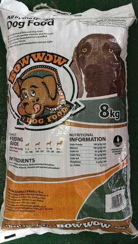 DOG FOOD FOR SALE- BOW WOW
