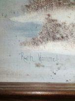Картина маслом холст