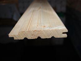 Podbitka dachowa świerk o wym. 19x121mm. Towar dostępny od ręki. Śląsk