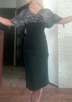 Sukienka Eidos, oryginalna, midi rozmiar Xs