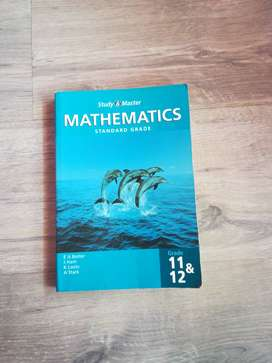 Maths textbook - study and master