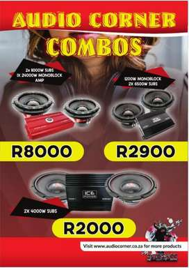 Ice Power bass Combo Promotions