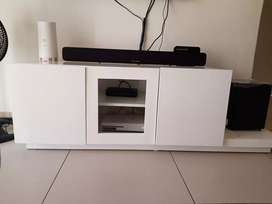 Tv stand and Round Table