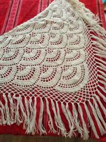 Белая шаль 500 руб