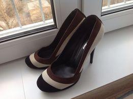 Туфли замшевые Mario Muzi 38-38,5 размер