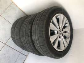 Golf 1.4 TSi OEM Rims and Tires