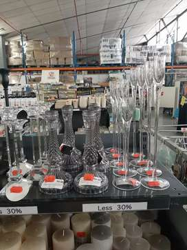 Glad candle holders