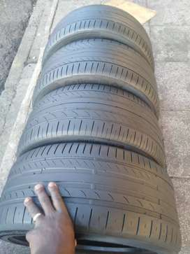 4 × 245 /40 / 17 continental tyres for sale