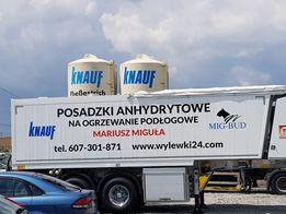KNAUF jastrych wylewka anhydryt samopoziomująca anhydrytowa Śląsk