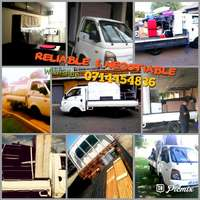 Image of bakkie/truck for hire