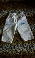Детские летние брюки (джинсы,штаны) на 1-2 года в идеальном состоянии