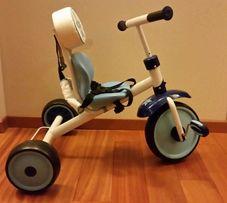 HAUCK CADDY rower rowerek trójkołowy dla chłopca niebieski