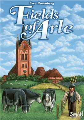 Fields of Arle + expansion boardgame (like new)