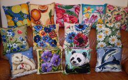 Вышитые подушки для Вашего дома!