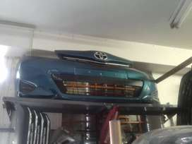 TOYOTA YARIS  FRONT BUMPER  FOR SALE