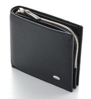 мужское портмоне и кошелек с двумя отделениями под карточки - ST кожа.