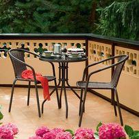 Мебель садовая балкон стол +2(4) стула Польша В Наличии