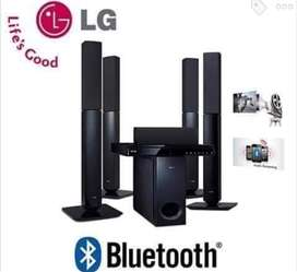 LG 1000W 5.1 CH DVD HOME THEATRE SYSTEM LHD657