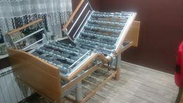 Łóżko rehabilitacyjne na pilota elektryczne + Materac i transport
