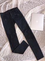 Jeansy rurki MOHITO podwyższony stan nietypowy fason S 36