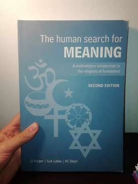 The human search for meaning