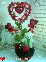 Подарок на день влюблённых Сердечко Любимым половинкам