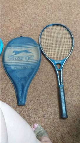 Slazenger panther club tennis rack and cover for saleet