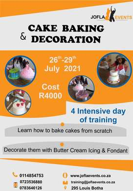 Cake Baking And Decoration Class