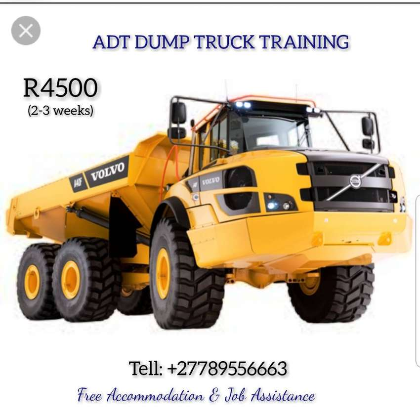 ADT dump truck Training in Mafikeng 0