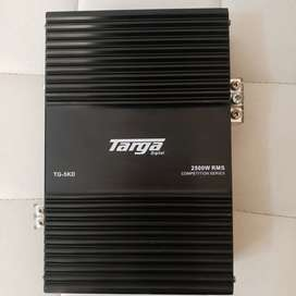 Targa TG-5KD Competition Series 2500rms 1ohm Amplifier