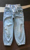 Spodnie dżinsowe, rozmiar 104.