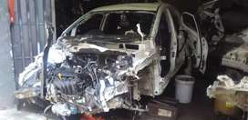 Kia Rio hatchback stripping for spares for sale