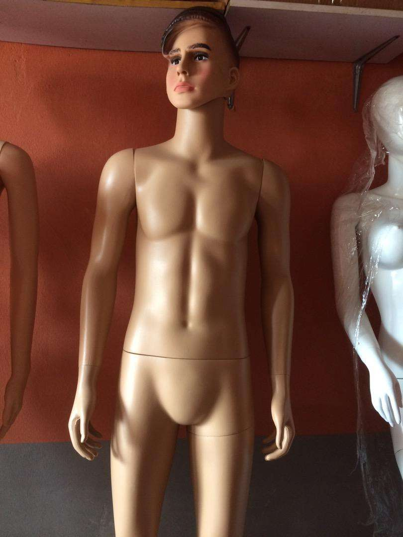 Male nude color mannequin 0