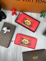Кошелек бумажник органайзер купюрник гаманець клатч Гуччи Gucci k127